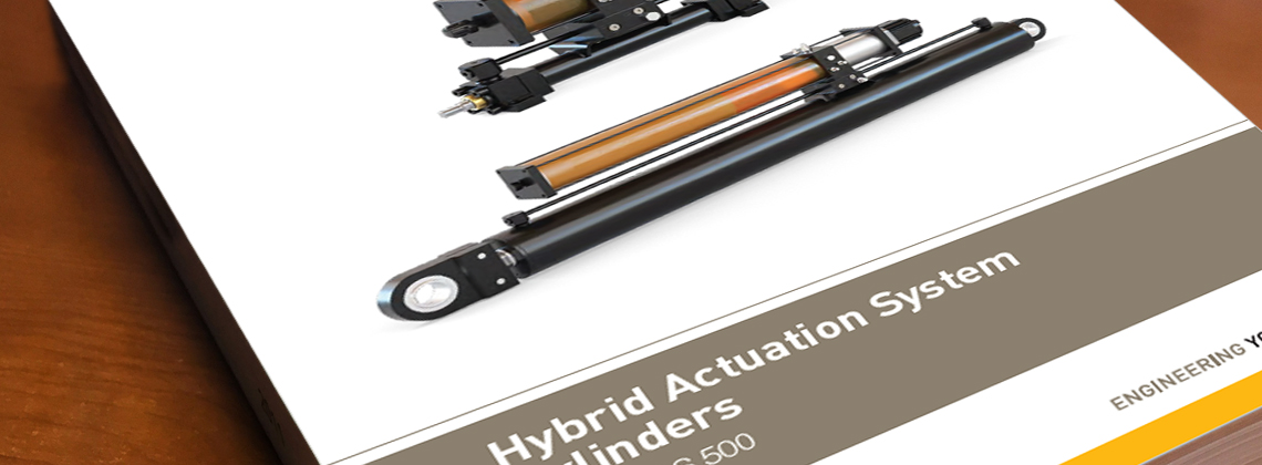 HAS Hybrid Actuation System Cylinders Catalog