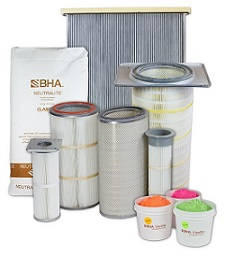 BHA brand bag filters, PulsePleats®, cartridge filters, and superior media technologies