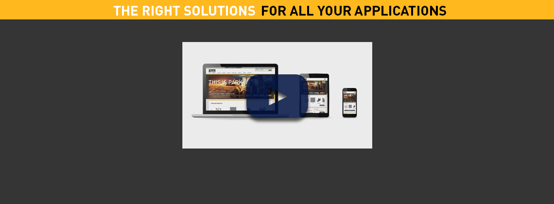 The right solutions for all your applications