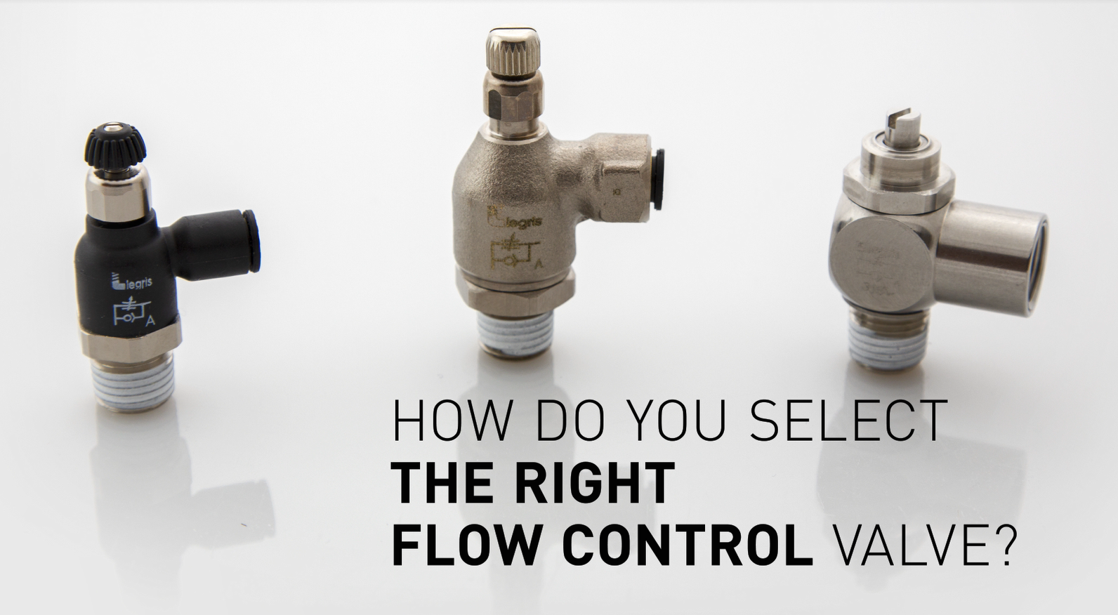 Selecting the right flow control